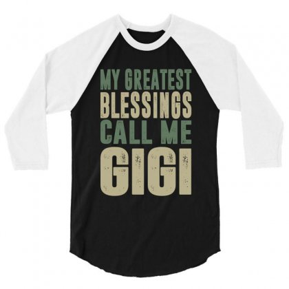 Greatest Gigi 3/4 Sleeve Shirt Designed By Cidolopez