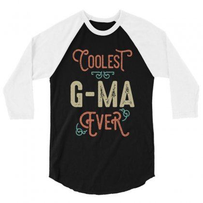 Coolest G-ma 3/4 Sleeve Shirt Designed By Cidolopez