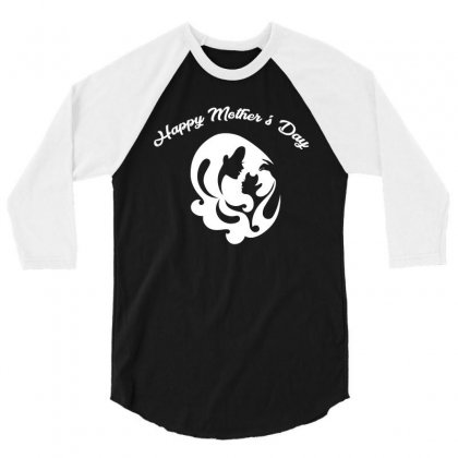 Happy Mothers Day T Shirt 3/4 Sleeve Shirt Designed By Hung