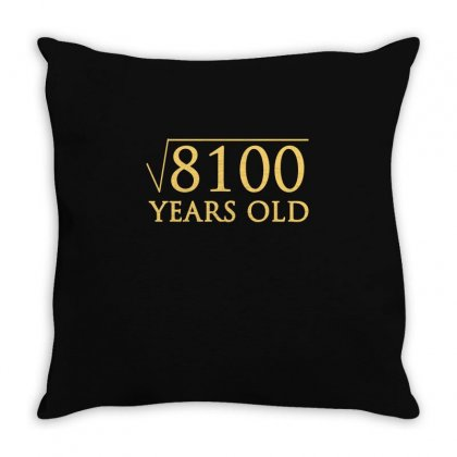 Funny T Shirt For 90 Year Old T Shirt Throw Pillow Designed By Hung