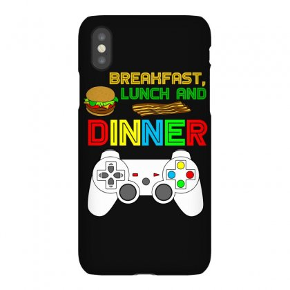 Breakfast Lunch Dinner T Shirt Iphonex Case Designed By Hung