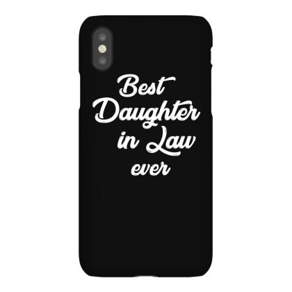 Best Daughter In Law Ever T Shirt Iphonex Case Designed By Hung