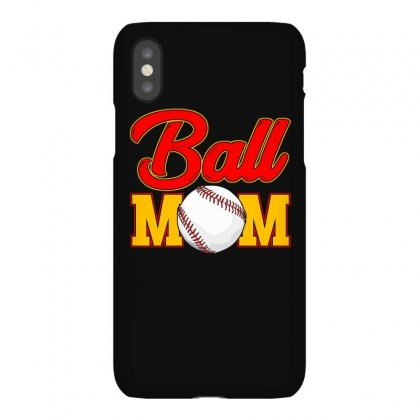 Ball Mom   Funny Mothers Day T Shirt Iphonex Case Designed By Hung