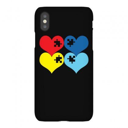 Autism Heart T Shirt Iphonex Case Designed By Hung