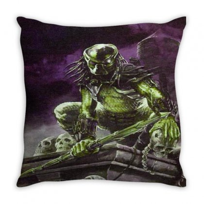 The Predetor Throw Pillow Designed By Jonybravo2000