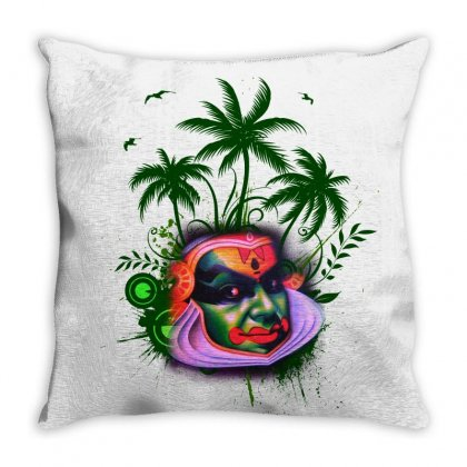 Kadaha Kali Copy Throw Pillow Designed By Benoyjustus