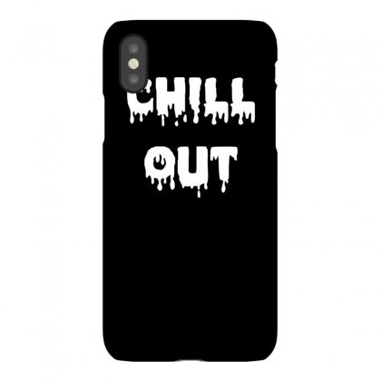 Chill Out Funny Tshirt Iphonex Case Designed By Alex
