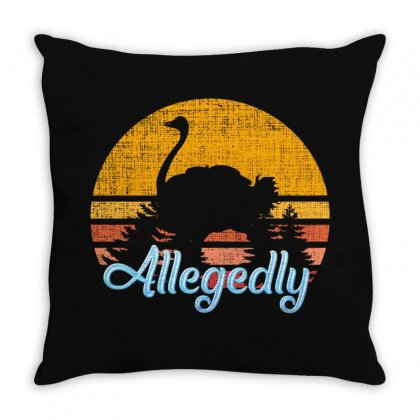 Letterkenny Allegedly Ostrich Throw Pillow Designed By Sengul