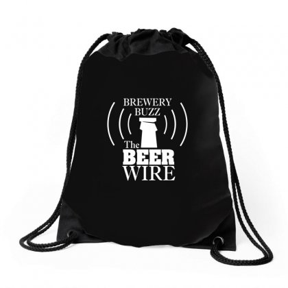 Beer Wire Brewery Buzz Drawstring Bags Designed By Gooseiant