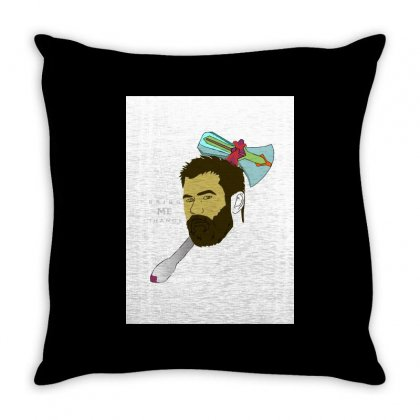 Thor Tshirt Dups Throw Pillow Designed By Anujlama105