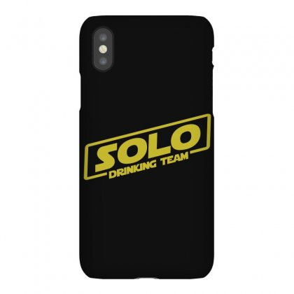 Drinking Solo Iphonex Case Designed By Gooseiant