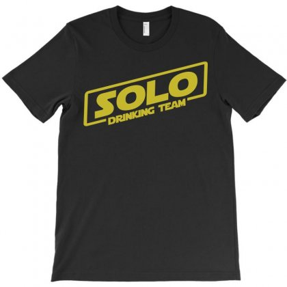Drinking Solo T-shirt Designed By Gooseiant
