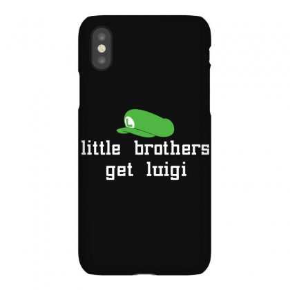 Little Brothers Get Luigi Iphonex Case Designed By Gooseiant