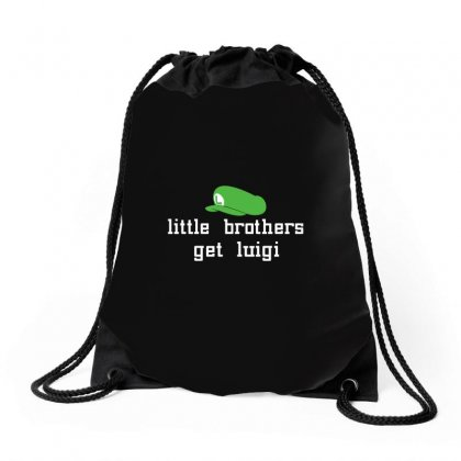 Little Brothers Get Luigi Drawstring Bags Designed By Gooseiant