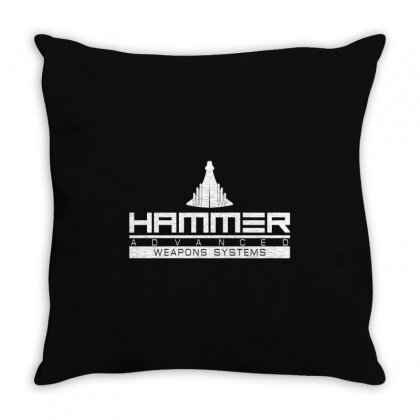 Hammer Advanced Weapons Systems Throw Pillow Designed By Gooseiant
