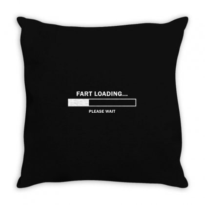 Fart Loading Throw Pillow Designed By Gooseiant
