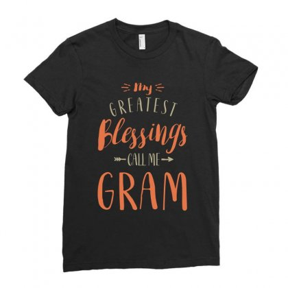 Greatest Gram Ladies Fitted T-shirt Designed By Cidolopez