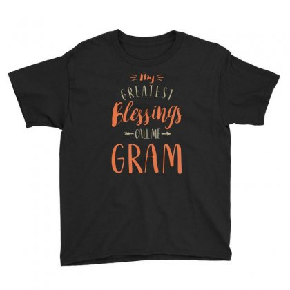 Greatest Gram Youth Tee Designed By Cidolopez
