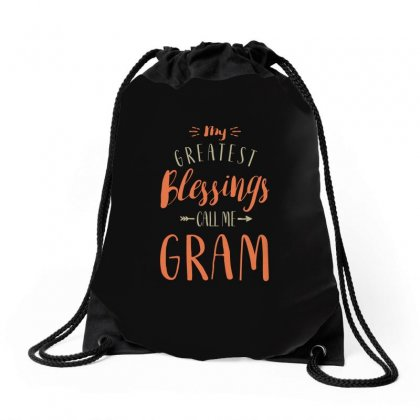 Greatest Gram Drawstring Bags Designed By Cidolopez