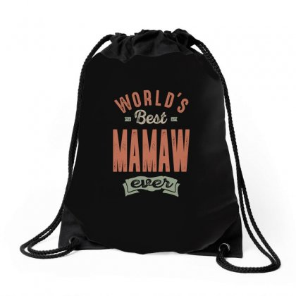 Best Mamaw Drawstring Bags Designed By Cidolopez