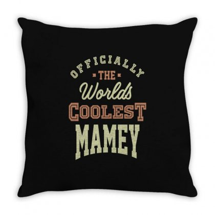 Coolest Mamey Throw Pillow Designed By Cidolopez