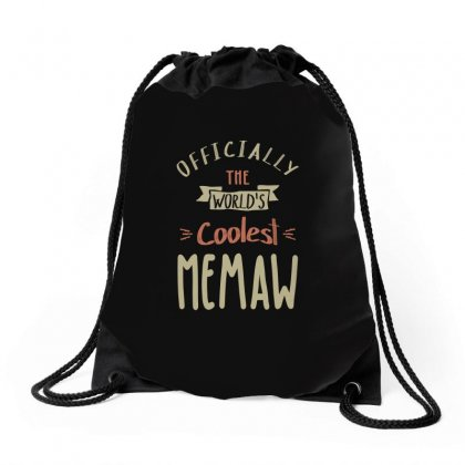 Coolest Memaw Drawstring Bags Designed By Cidolopez
