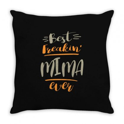Mima Ever Throw Pillow Designed By Cidolopez