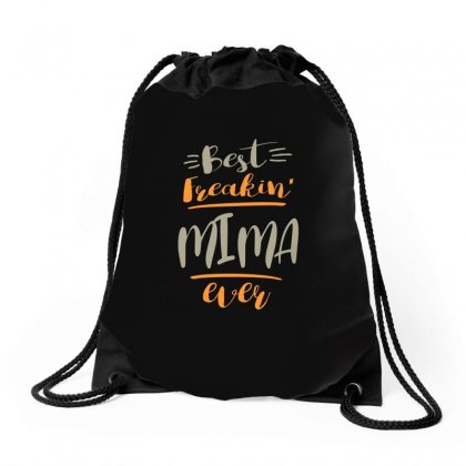 Mima Ever Drawstring Bags Designed By Cidolopez