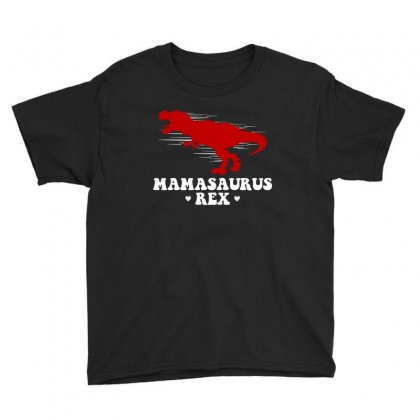 Mamasaurus Rex T Shirt Youth Tee Designed By Hung
