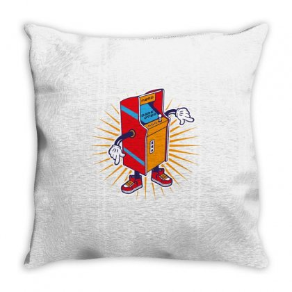 Game Over Throw Pillow Designed By Wizarts