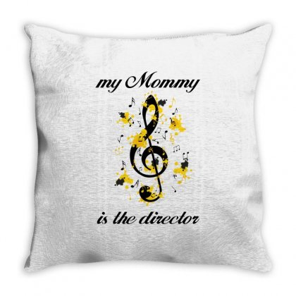 My Mommy Is The Director Throw Pillow Designed By Wizarts
