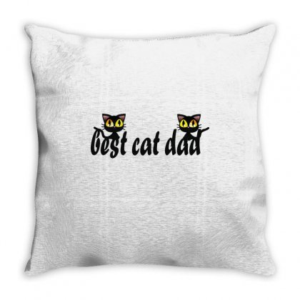 Best Cat Ever Throw Pillow Designed By Wizarts
