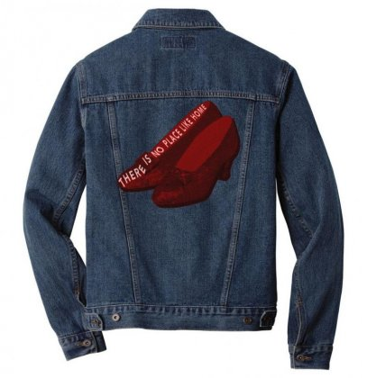There Is No Place Like Home Men Denim Jacket Designed By Seniha