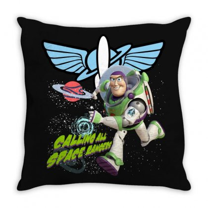 Buzz Toy Story Throw Pillow Designed By Sengul