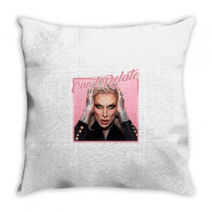 Can't Relate Jeffree Star Throw Pillow Designed By Nurbetulk
