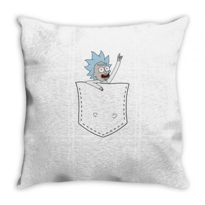 Rick In Pocket Throw Pillow Designed By Mia