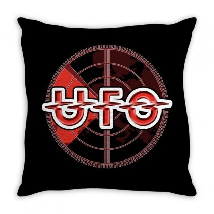 Ufo Band Throw Pillow Designed By Luisother
