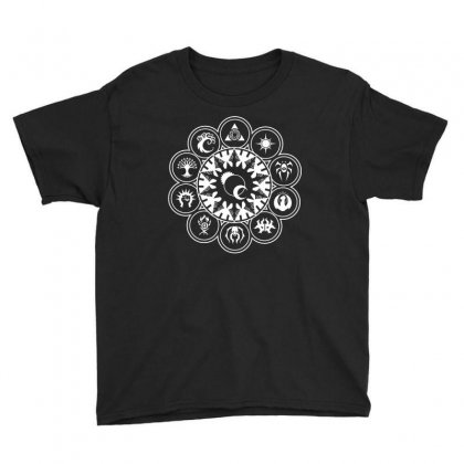 Magic Gathering Guild Youth Tee Designed By Luisother