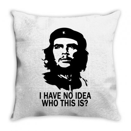 Che Guevara No Idea Throw Pillow Designed By Luisother