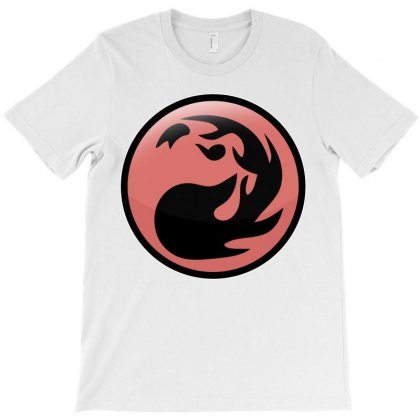 Magic Gathering Red T-shirt Designed By Luisother