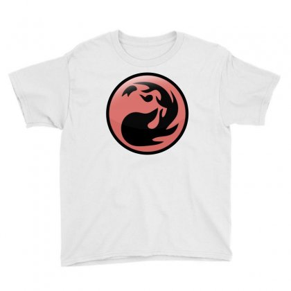 Magic Gathering Red Youth Tee Designed By Luisother