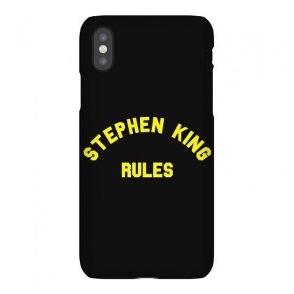 Stephen King Rules Iphonex Case Designed By Flupluto