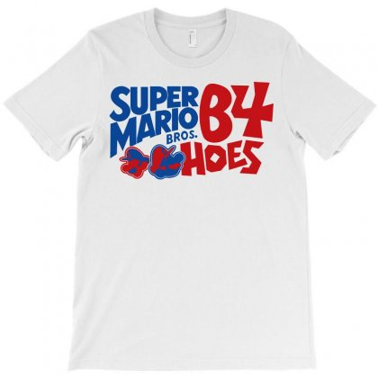 Super Mario Bros Before Hoes T-shirt Designed By Flupluto