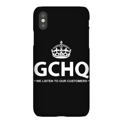 Government Communications Head Quarters Iphonex Case Designed By Flupluto