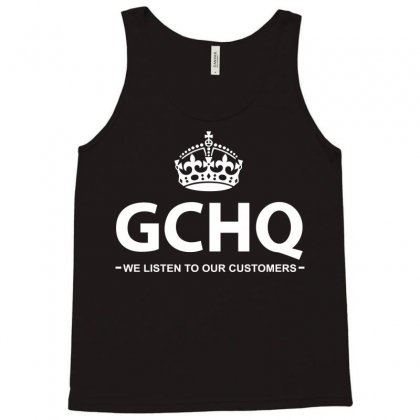Government Communications Head Quarters Tank Top Designed By Flupluto