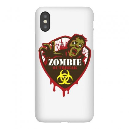 Zombie Outbreak Response Team Iphonex Case Designed By Flupluto