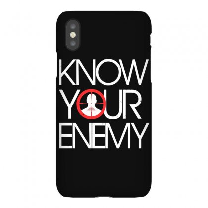 Know Your Enemy Iphonex Case Designed By Flupluto