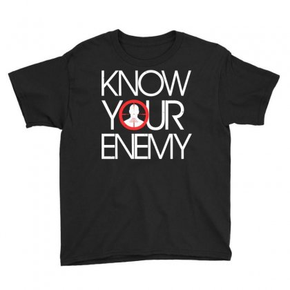 Know Your Enemy Youth Tee Designed By Flupluto