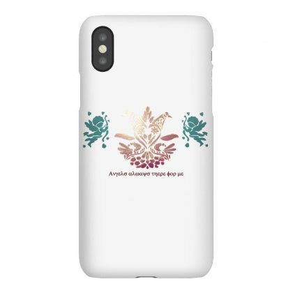 Angels Always There For Me Iphonex Case Designed By Aliomrane