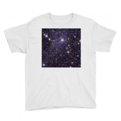 Great Wall Of Code Space And Stars Youth Tee Designed By Zoooooz